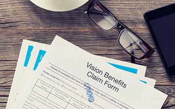 Vision benefits insurance